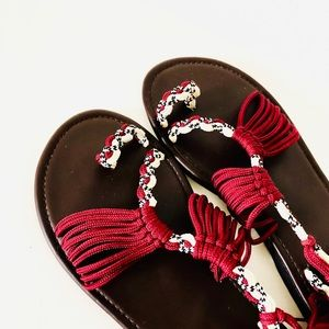 SALE⚡️Braided Strappy Flat Sandals